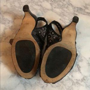 Anyi Lu Shoes - Anyi lu • tulip slingback • black